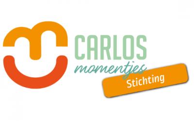 Ik ondersteun Stichting Carlosmomentjes